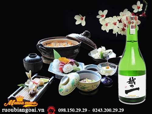 Rượu Sake Etsuno Hajime 300ml