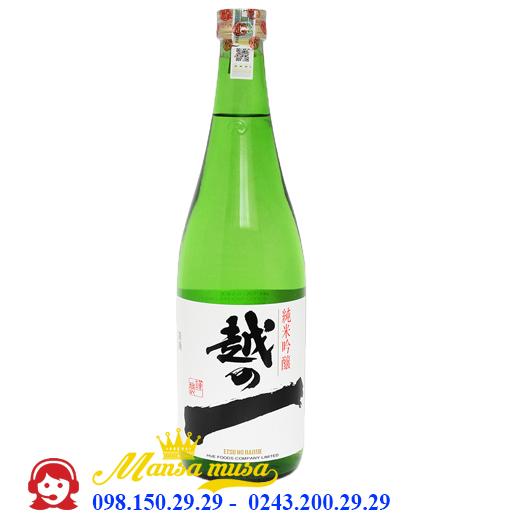 Rượu Sake Etsuno Hajime 1800 ml