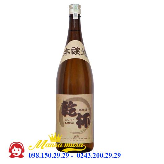 Rượu Sake Kanpai 1800 ml