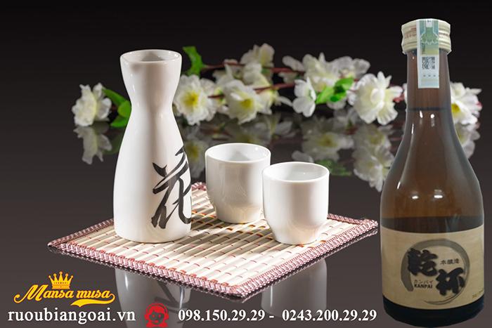 Rượu Sake Kanpai 300ml