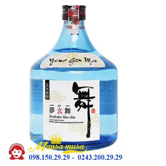 Rượu Shochu Yume Genmai