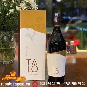 Rượu Vang Talo Negroamaro - Rượu Vang Ý