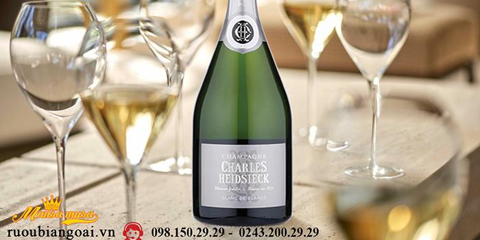 Sâm Banh Pháp Champagne Charles Heidsieck Blanc De Blancs