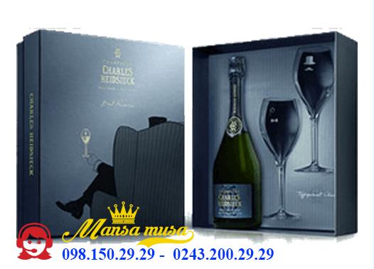 Sâm Banh Pháp Champagne Charles Heidsieck Brut Reserve