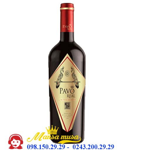 Vang Chile Pavo Real Limited Edition