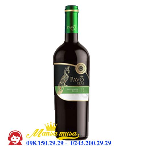 Vang Chile Pavo Real Sauvignon Blanc Varietal