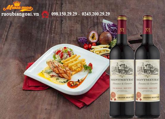 Vang Pháp Montmeyrac Vin Rouge Grand Selection
