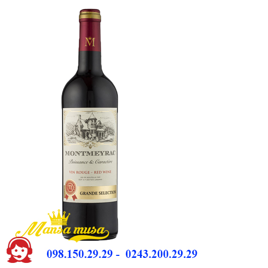 Vang Pháp Montmeyrac Vin Rouge Grand Selection