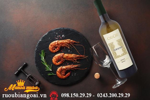 Rượu vang Ciù Ciù Tebaldo - Rượu vang Ý