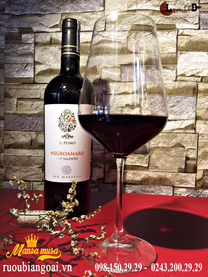 Rượu Vang IL Pumo Negroamaro - Rượu Vang Ý