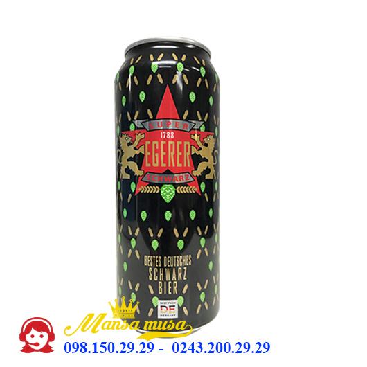 Bia Đức Super Egerer Schwarz