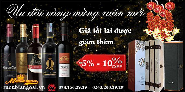 Rượu vang nhập khẩu