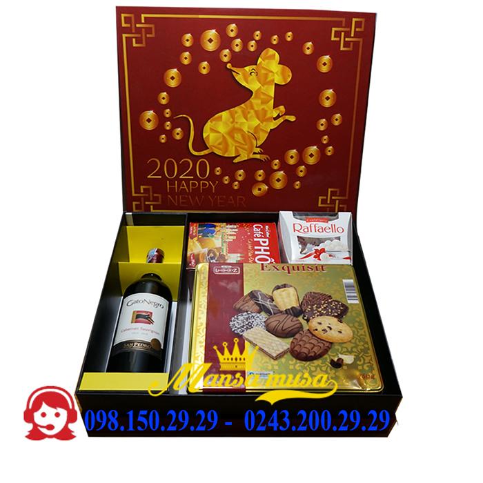 Hộp quà tết 2020 mẫu 11