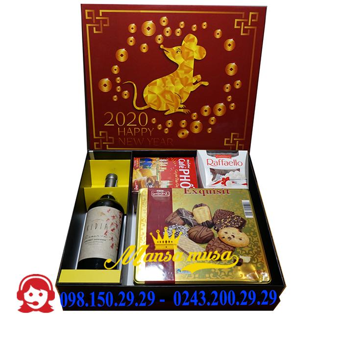 Hộp quà tết 2020 mẫu 20