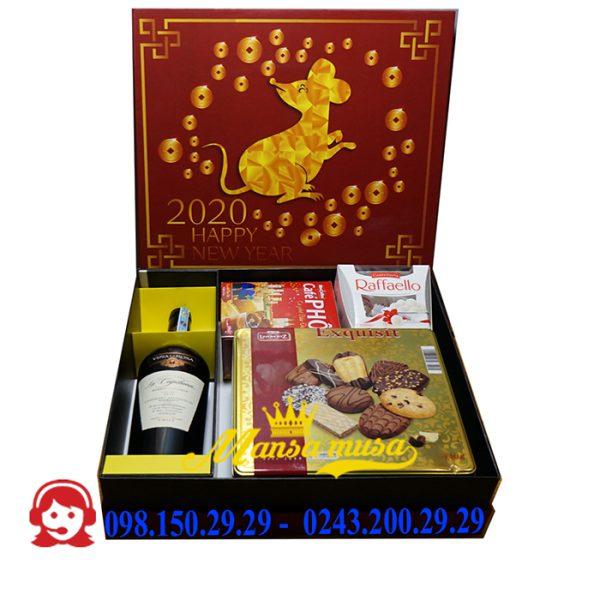 Hộp quà tết 2020 mẫu 21