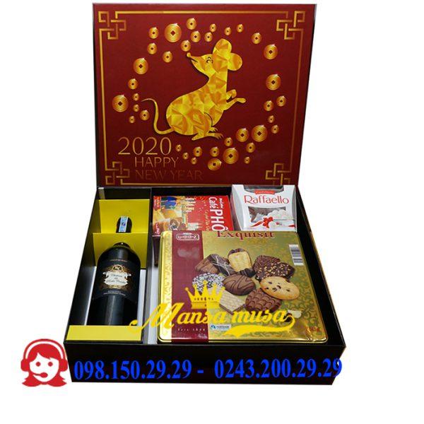 Hộp quà tết 2020 mẫu 36
