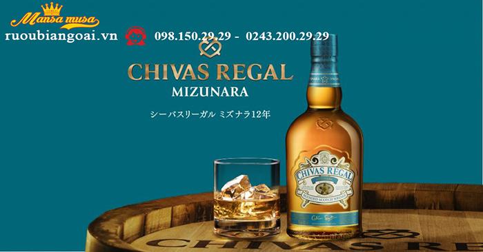 Rượu Chivas Mizunara