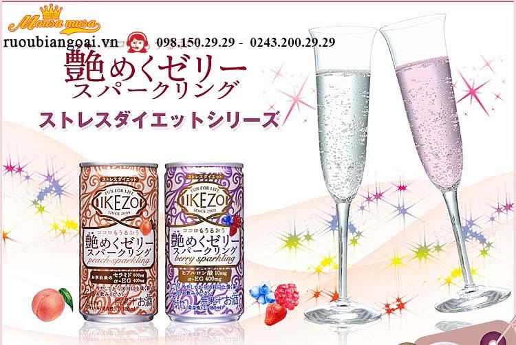 Rượu Ikezo Berry Mix Sparkling