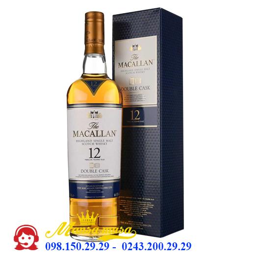 Rượu Macallan 12 Double Cask