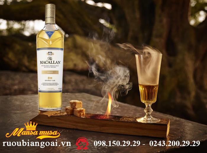 Rượu Macallan 1824 Gold Double Cask