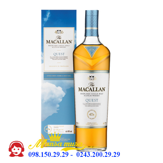 Rượu MacallanQuest 1 Lít