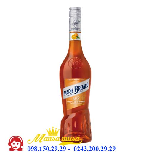 Rượu Marie Brizard Curacao Orange