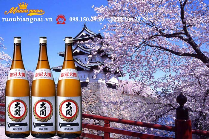 Rượu Ozeki Traditional 1800ml