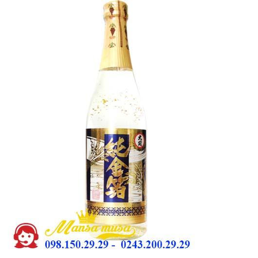 Rượu Sake Ozeki Junmai Gold Flake