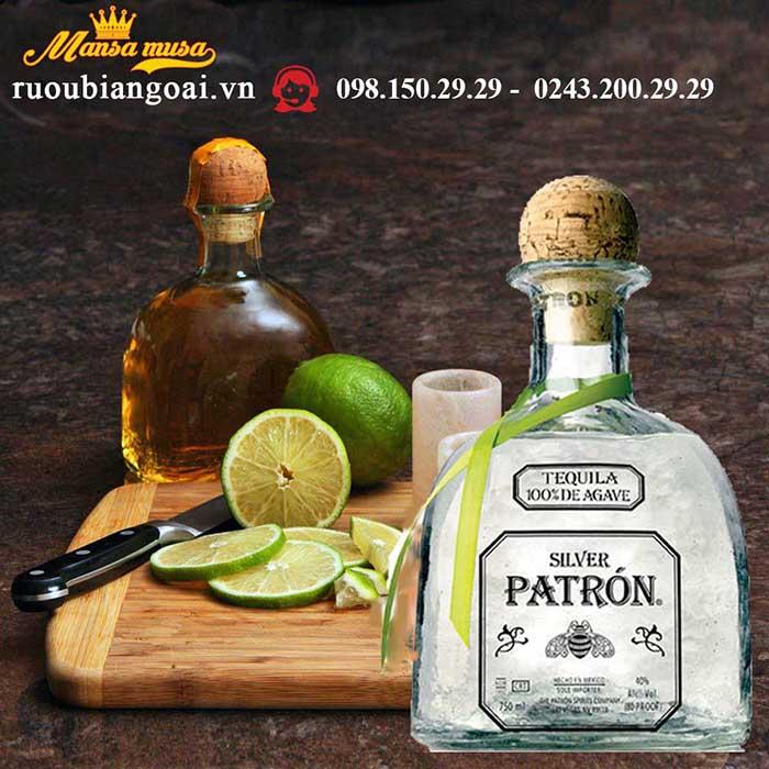Rượu Tequila Patron Silver