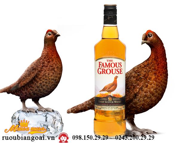Rượu WHISKY The Famous Grouse