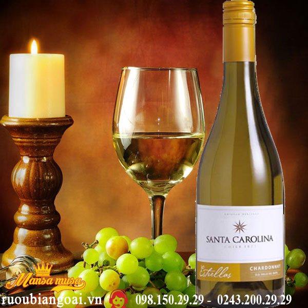 Vang Chile Santa Carolina Estrellas Chardonnay