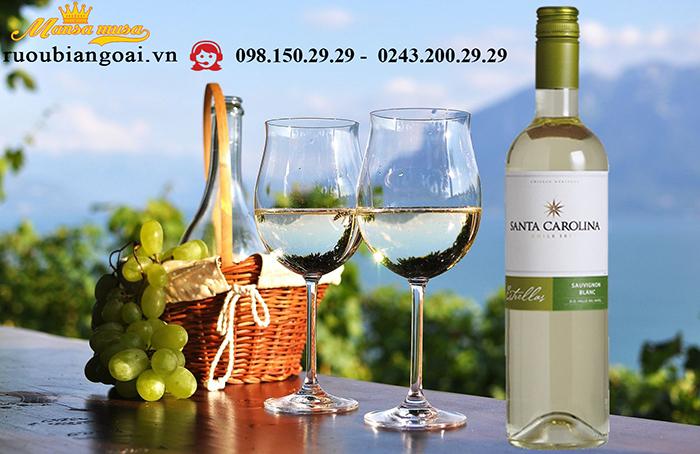 Vang Chile Santa Carolina Estrellas Sauvignon Blanc