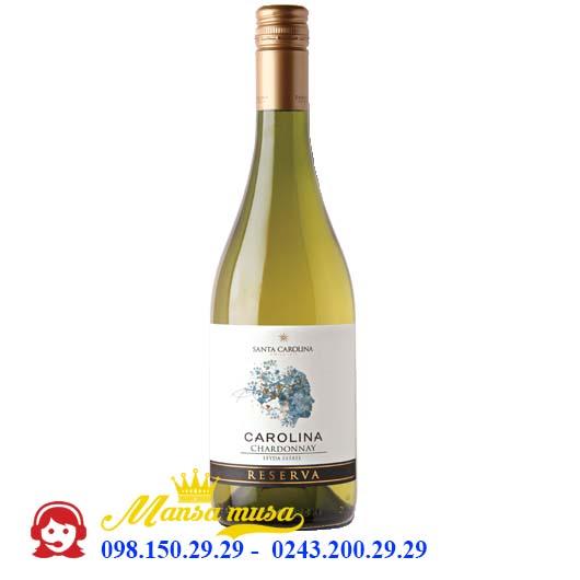 Vang Chile Santa Carolina Reserva Chardonnay