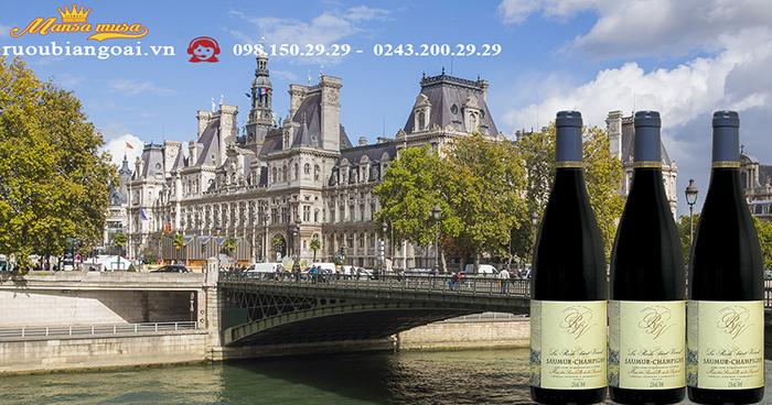 Vang Pháp La Roche Saint Vincent Saumur Champigny