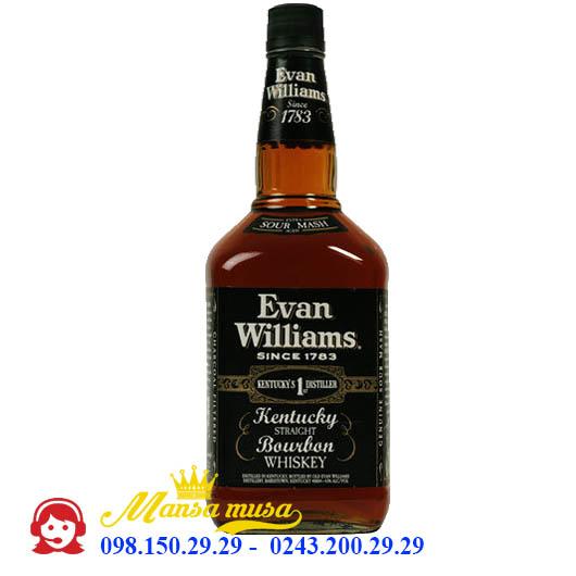 Rượu Evans Williams Kentucky Straight Bourbon