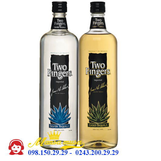 Rượu Tequila Two Fingers
