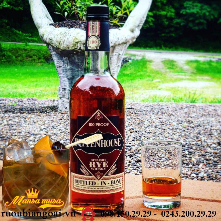 Rượu Rittenhouse Rye Whiskey