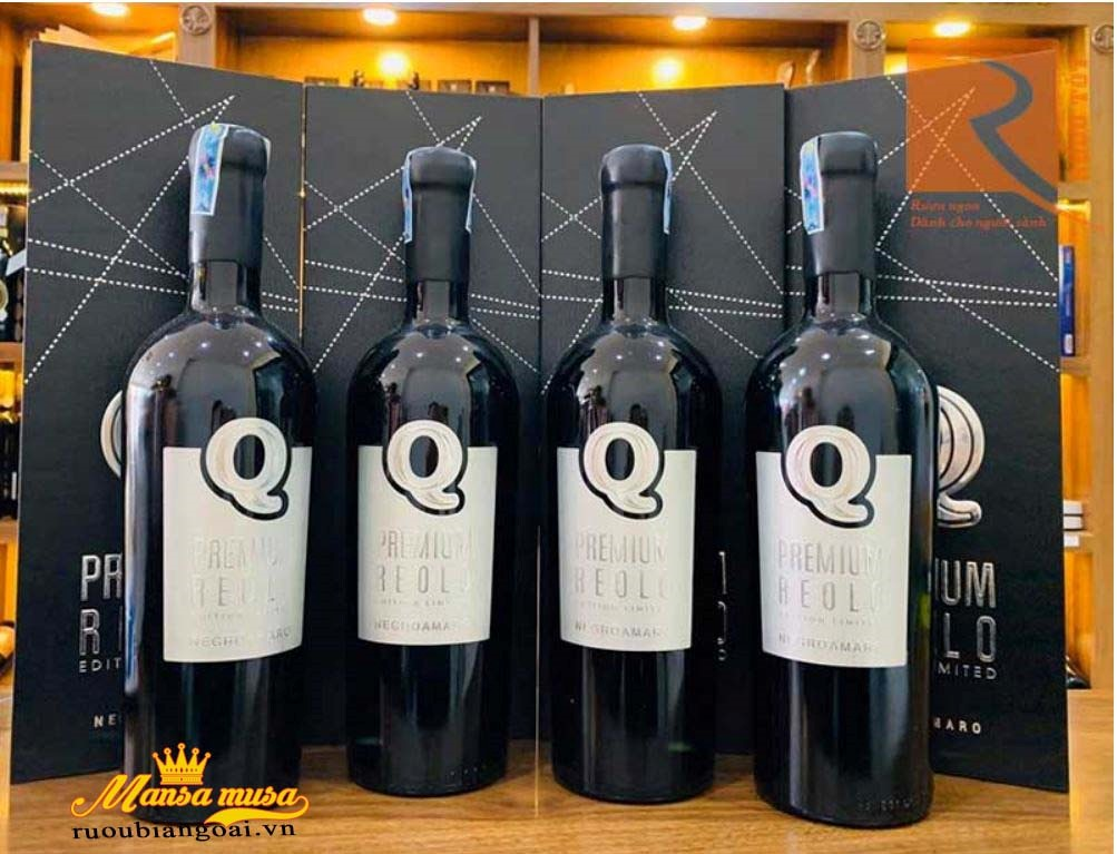 Rượu vang Q Premium Negroamaro