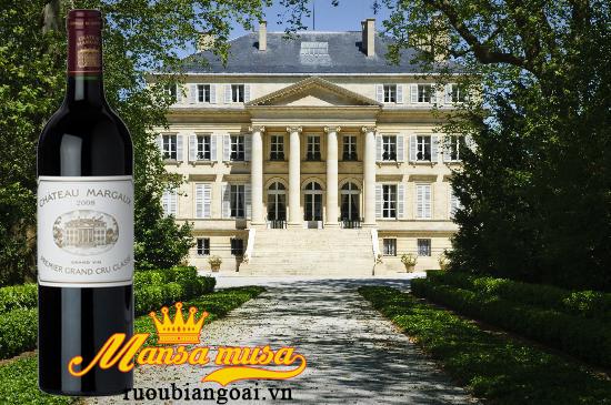 Đặc trưng vang pháp Chateau Margaux 2008