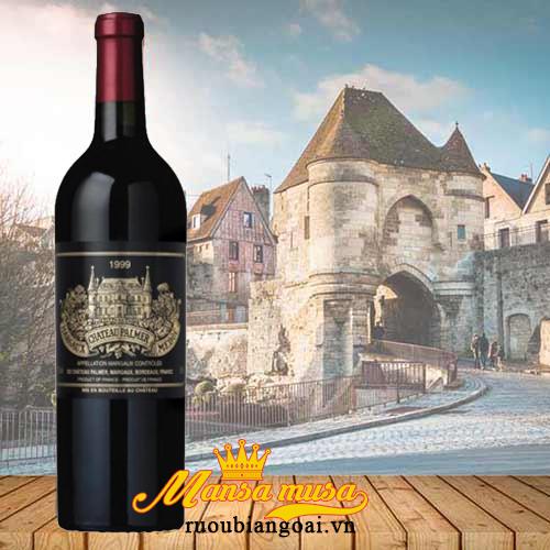 Rượu vang Pháp Chateau Palmer 1999