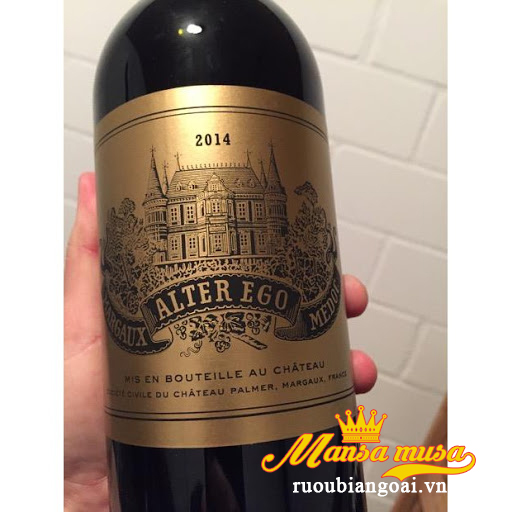 Rượu vang Pháp Alter Ego De Palmer 2014