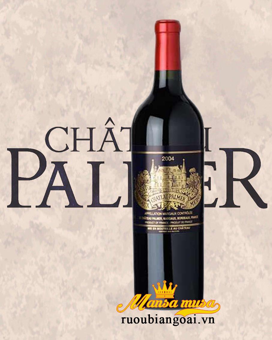 Rượu vang Pháp Chateau Palmer 2004