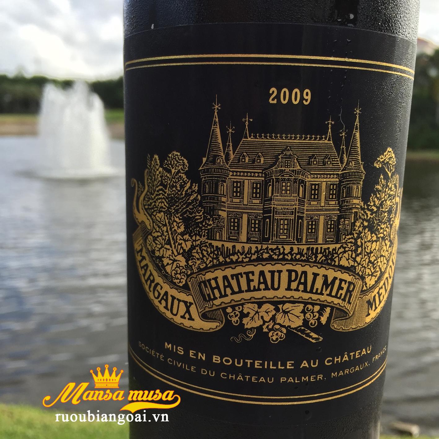 Rượu vang Pháp Chateau Palmer 2009