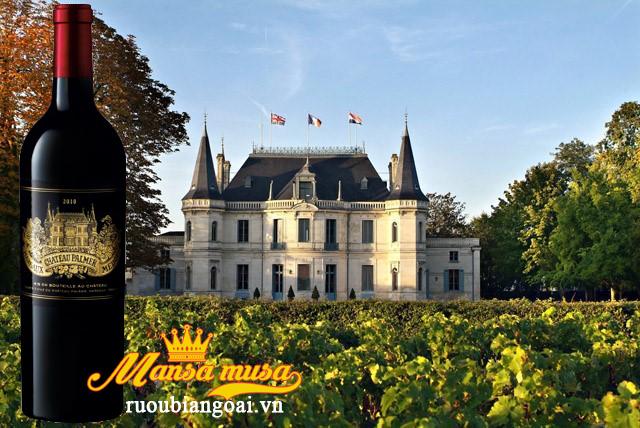 Rượu vang Pháp Chateau Palmer 2010