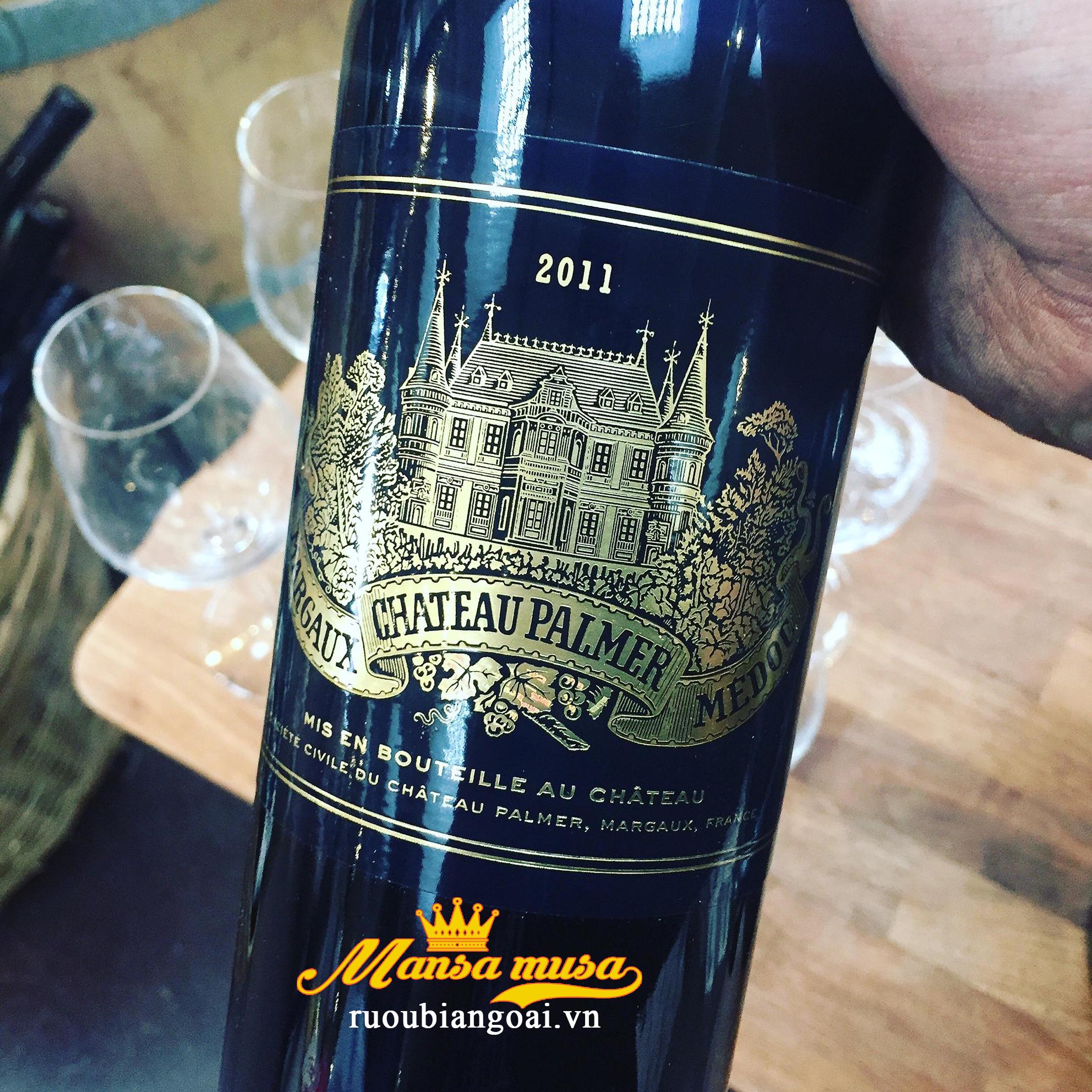 Rượu vang Pháp Chateau Palmer 2011
