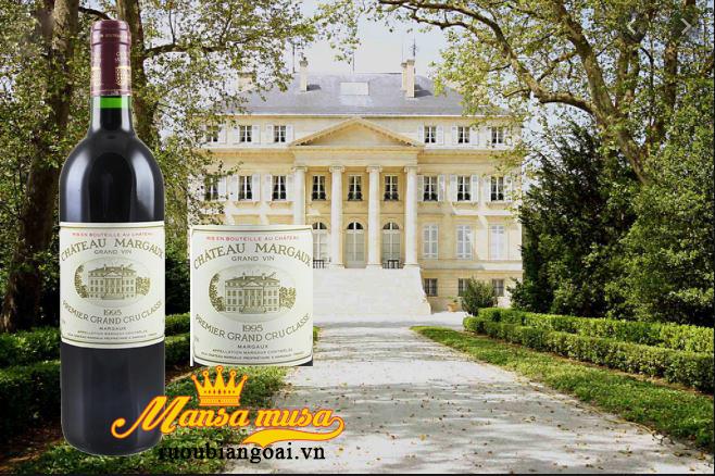 Thưởng thức rượu vang đỏ pháp Chateau Margaux 1995