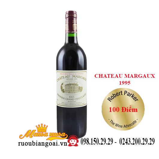 Vang Pháp Chateau Margaux 1995