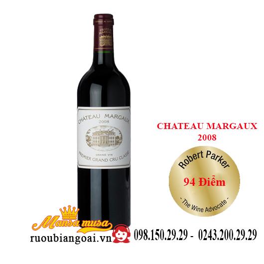 Vang Pháp Chateau Margaux 2008