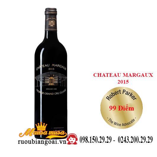 Vang Pháp Chateau Margaux 2015