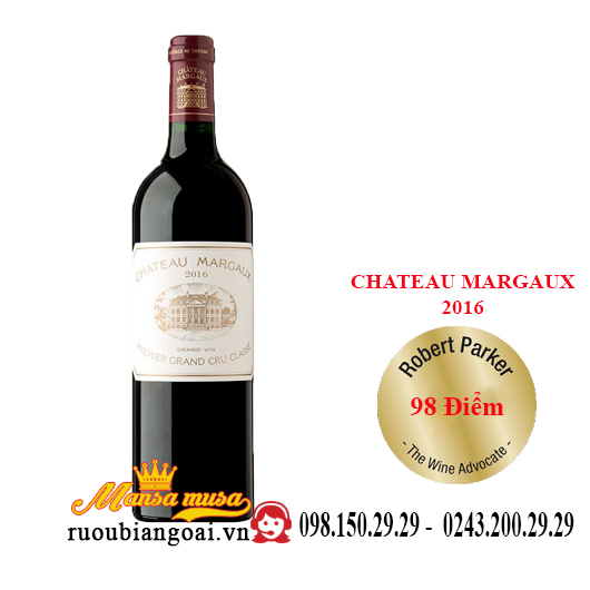 Vang Pháp Chateau Margaux 2016